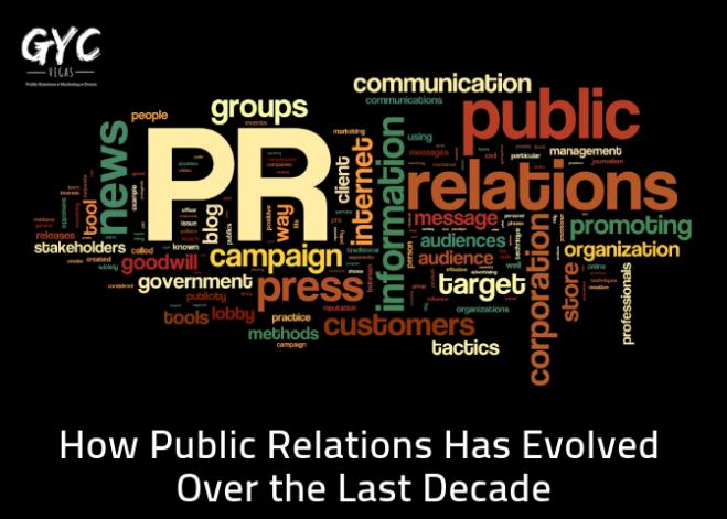 PR agency - Evolution of PR